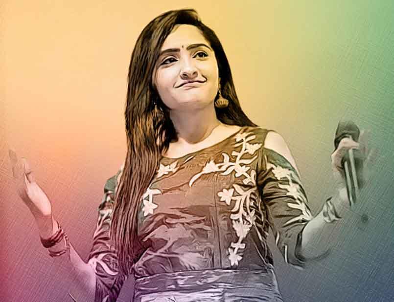 Santvani Trivedi releases a new song 'Rupa Ni Zhanzari'